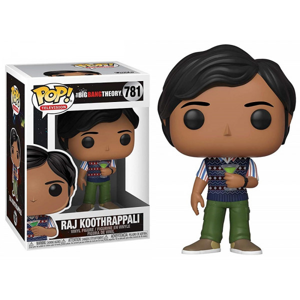 Funko POP! The Big Bang Theory S2: Raj Koothrappali