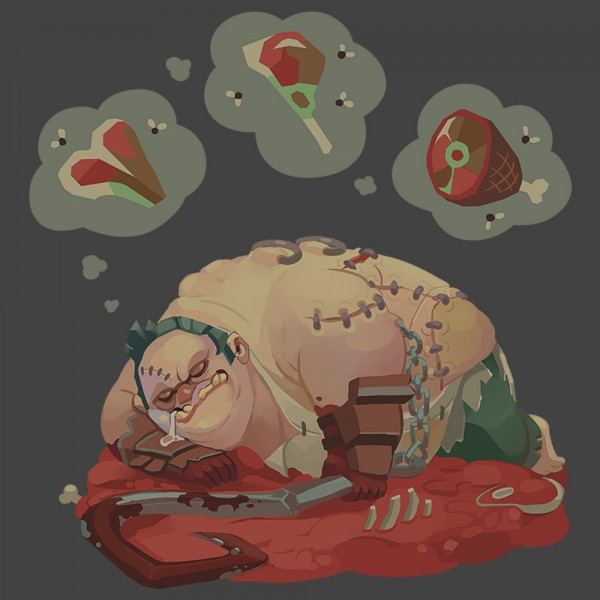 Футболка Dota 2 Meat Dreams