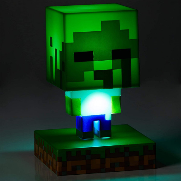 Paladone Icons Light Minecraft: Zombie BDP