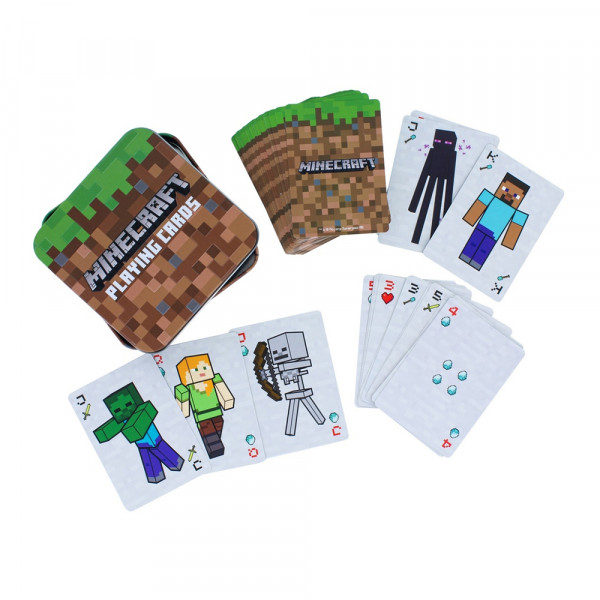 Paladone Playing Cards: Minecraft