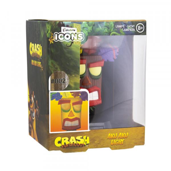 Paladone Crash Bandicoot: Aku Aku Icon Light V2