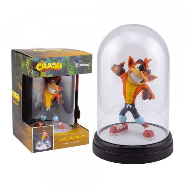 Paladone Crash Bandicoot: Bell Jar Light V2