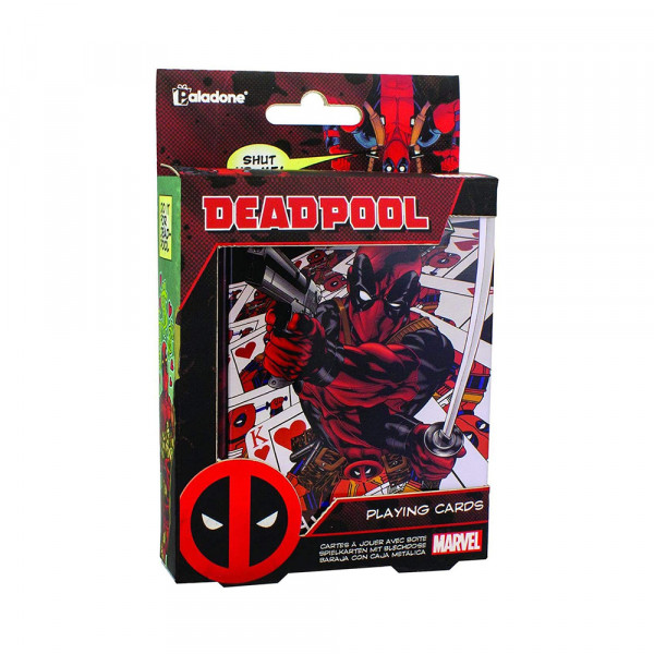 Paladone Deadpool Playing Cards