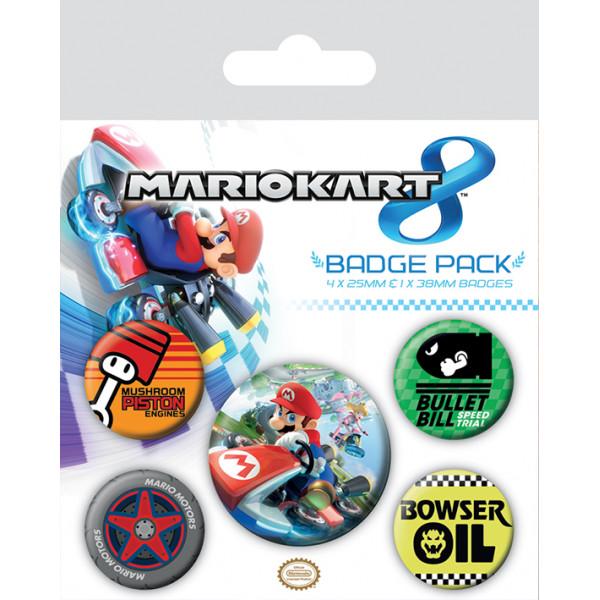 Набор значков Pyramid Mario Kart 8