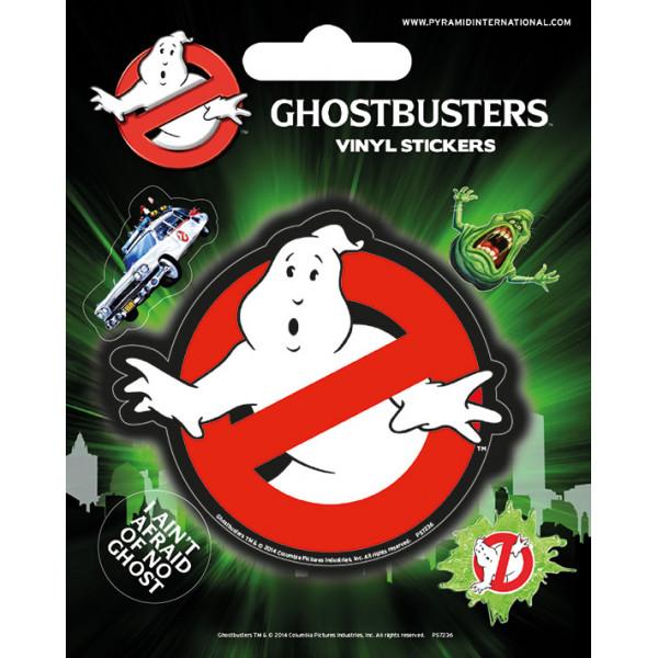 Наклейки виниловые Pyramid Ghostbusters (Logo)