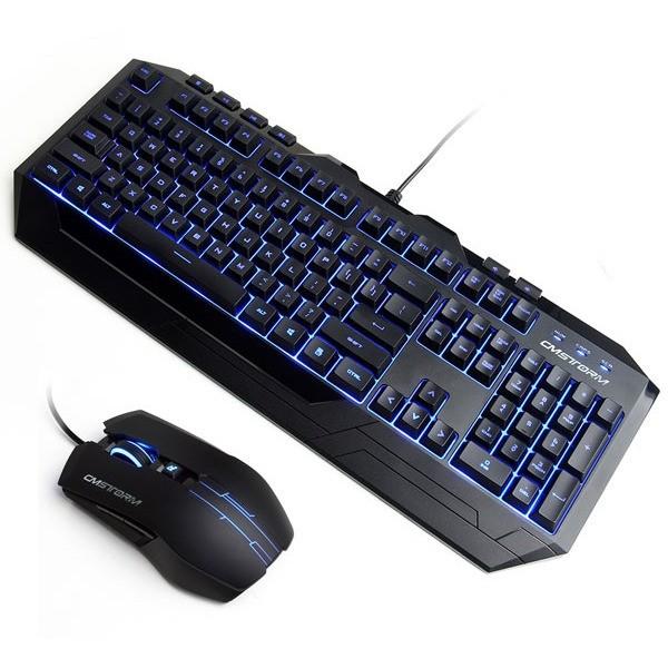 Cooler Master Devastator Combo Blue Black USB
