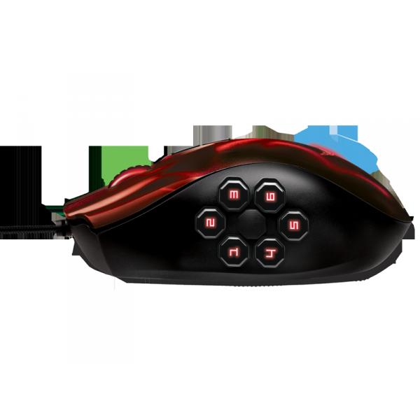 Razer Naga Hex Wraith Red Edition