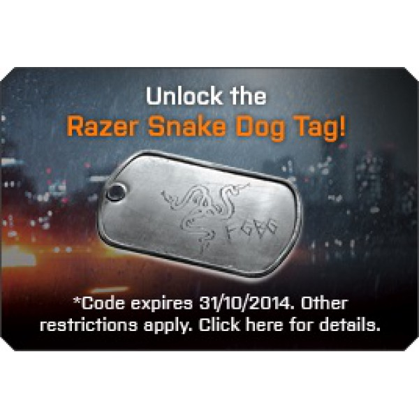 Razer Destructor 2 Battlefield 4