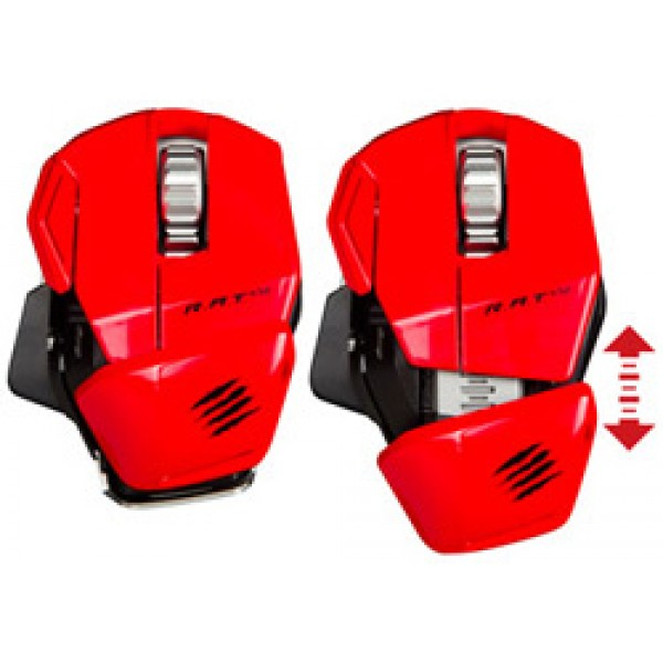 Mad Catz R.A.T.M red