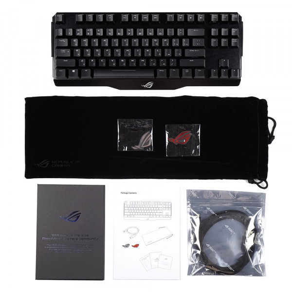 ASUS ROG Claymore Core Cherry RGB Black