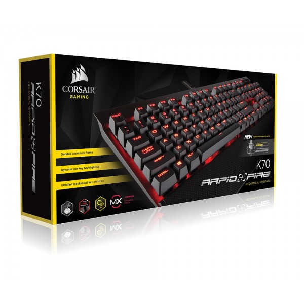 Corsair K70 Rapidfire Cherry MX Speed