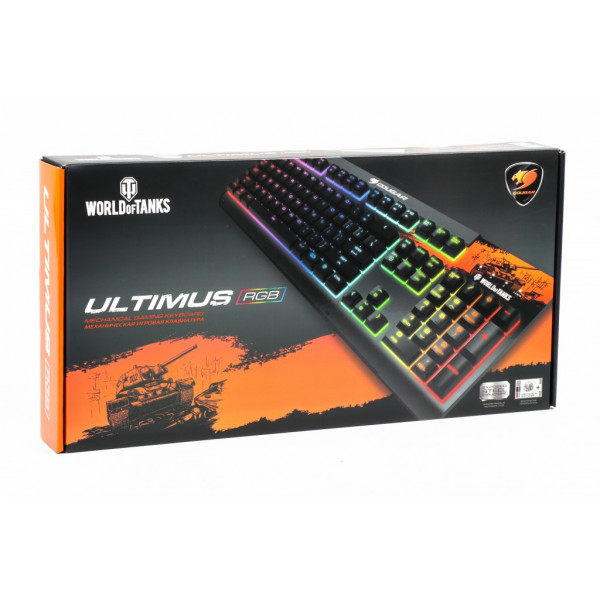 Cougar Ultimus RGB World of Tanks Blue Switch