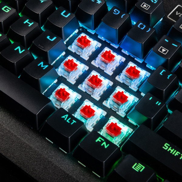 Modecom Volcano Hammer RGB Red Switch