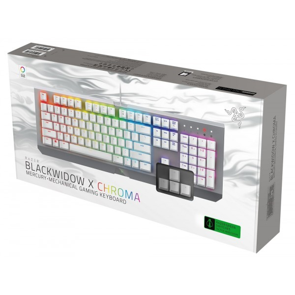 Razer BlackWidow X Chroma Mercury Edition