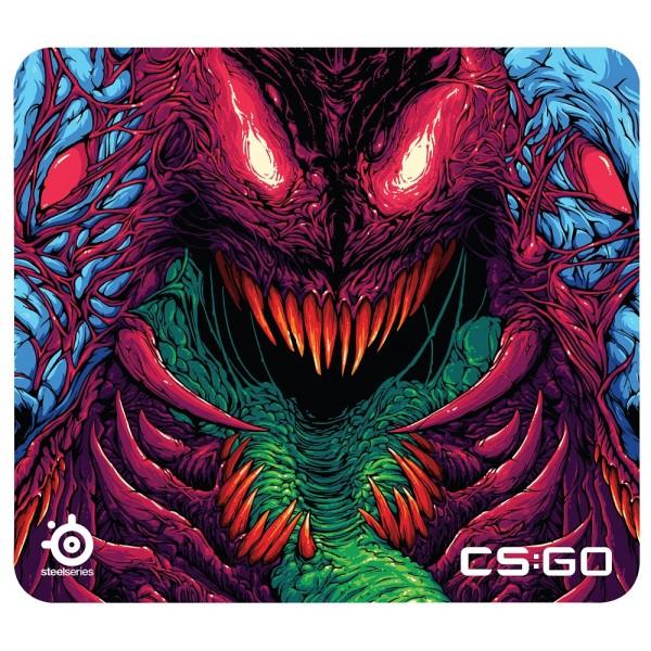 SteelSeries QcK+ CS GO Hyper Beast Edition