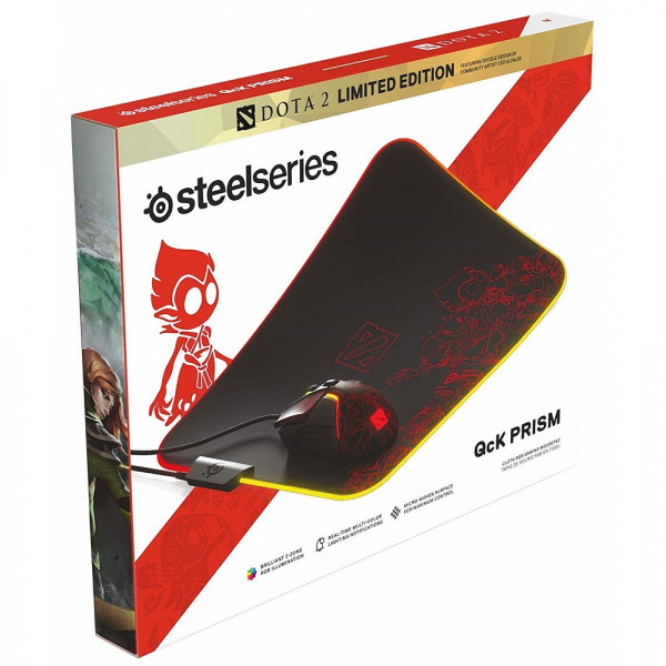 SteelSeries QcK Prism Cloth Medium Dota 2 Limited Edition