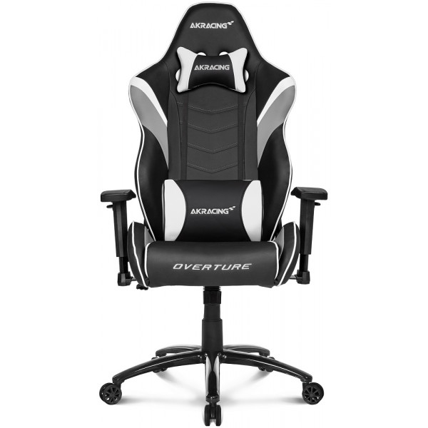 AKRacing Overture Black White