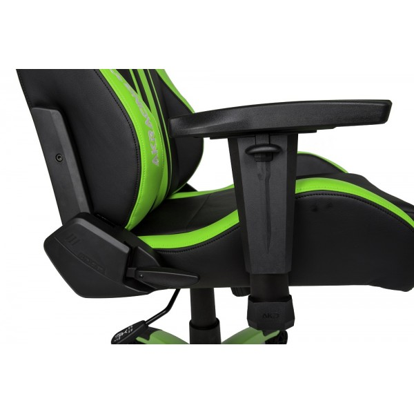 AKRacing Premium Plus Black Green