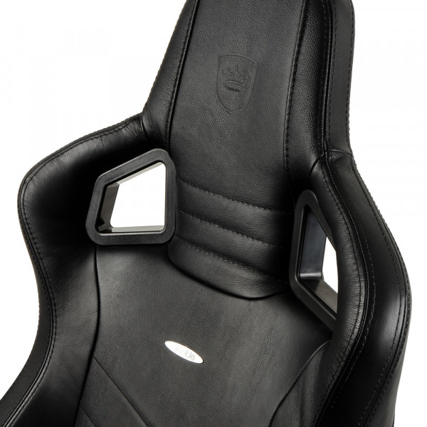 noblechairs EPIC Real Leather Black