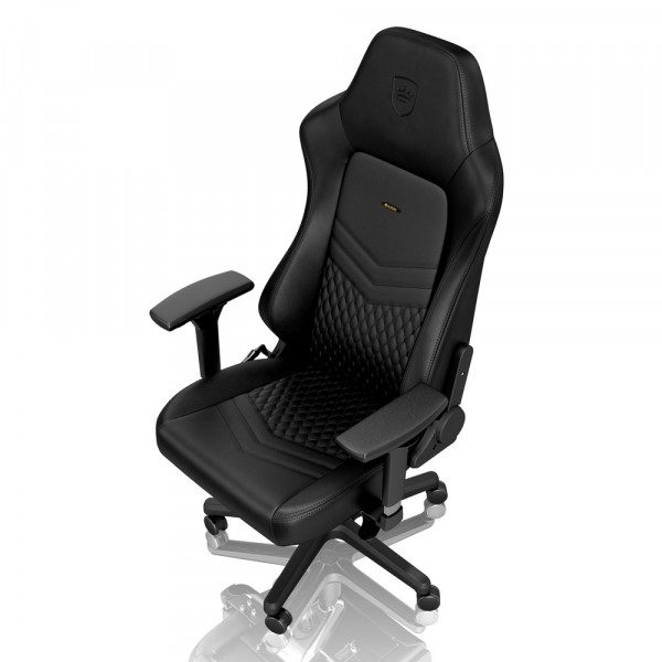 noblechairs HERO Real Leather Black