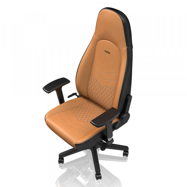noblechairs ICON Real Leather Cognac/Black