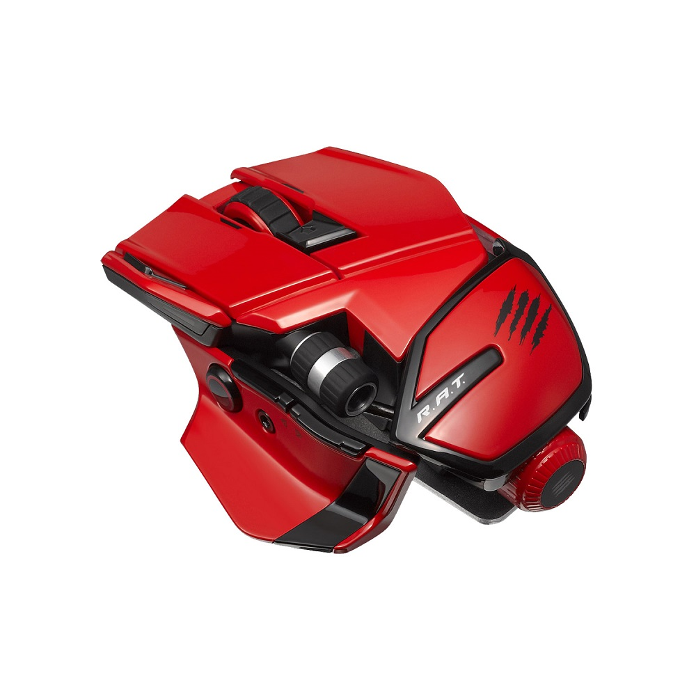 Мышь Mad Catz RAT 4 Black-Red MCB4373100A3/04/1