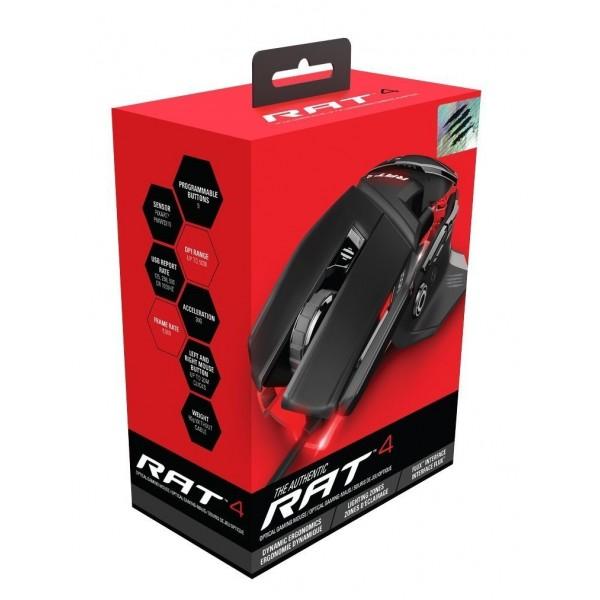 Mad Catz RAT 4 Black-Red