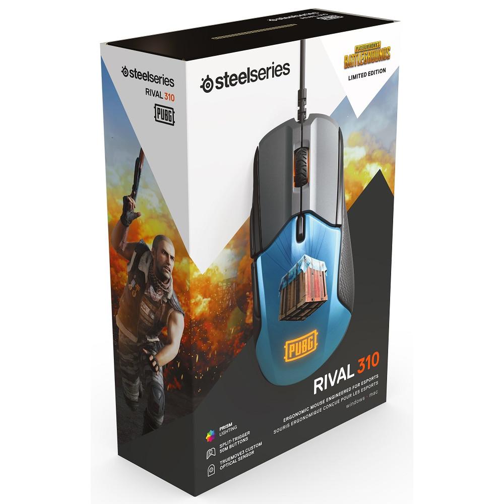 SteelSeries Rival 310 PUBG Edition - Купить мышь в Москве