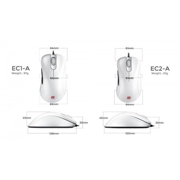 Zowie by BenQ EC1-A White