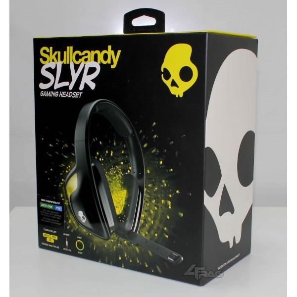 SKULLCANDY SLYR black/yellow