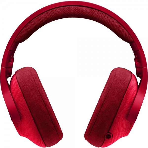 Logitech G433 7.1 Surround Sound Fire Red