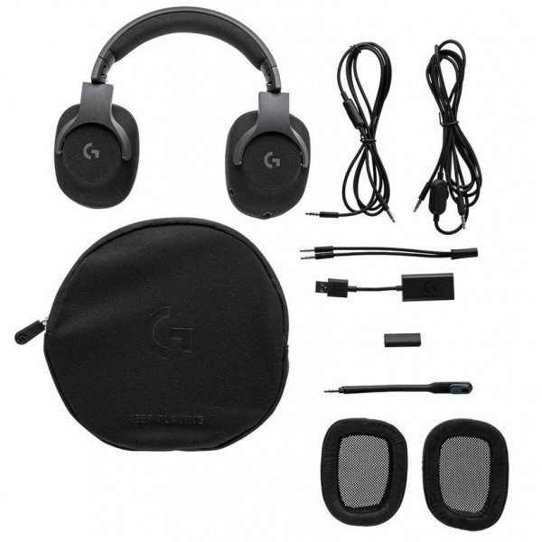 Logitech G433 7.1 Surround Sound Triple Black