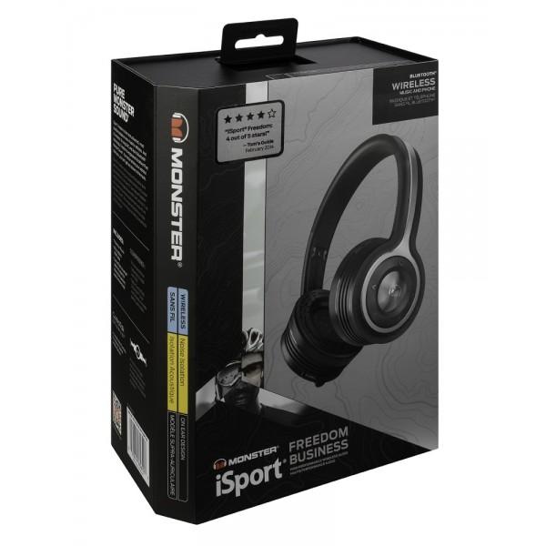 Monster iSport Freedom Bluetooth Black