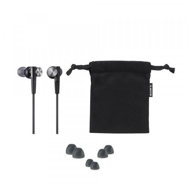Sony MDR-XB50AP Extra Bass Black
