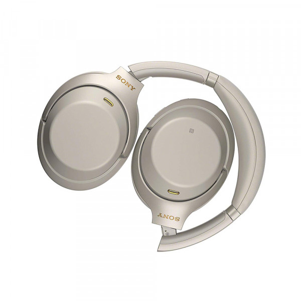 Sony WH-1000XM3 Noise Canceling Platinum Silver