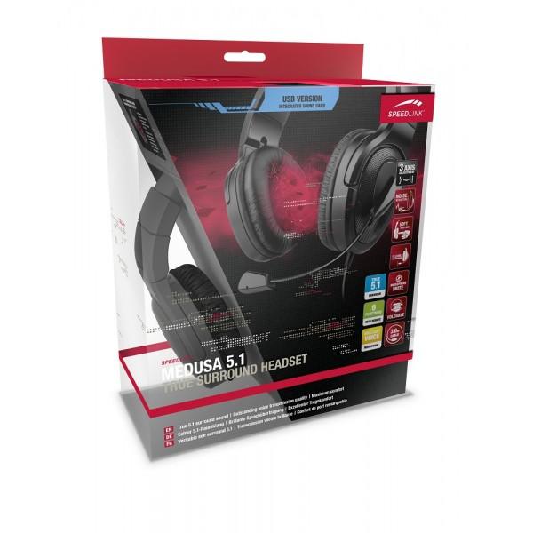 Speedlink Medusa XE 5.1 True Surround SL-8796-BK-01