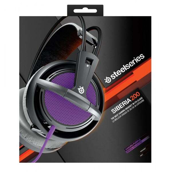 SteelSeries Siberia 200 Sakura Purple