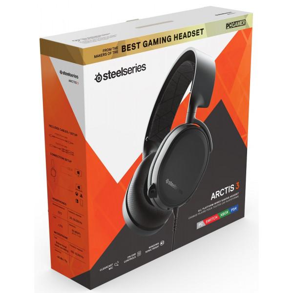 SteelSeries Arctis 3 2019 Edition Black