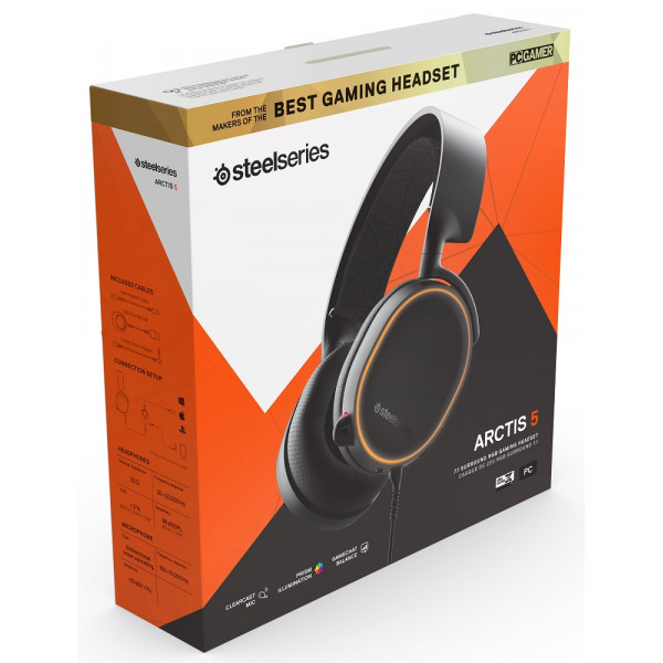 SteelSeries Arctis 5 2019 Edition Black