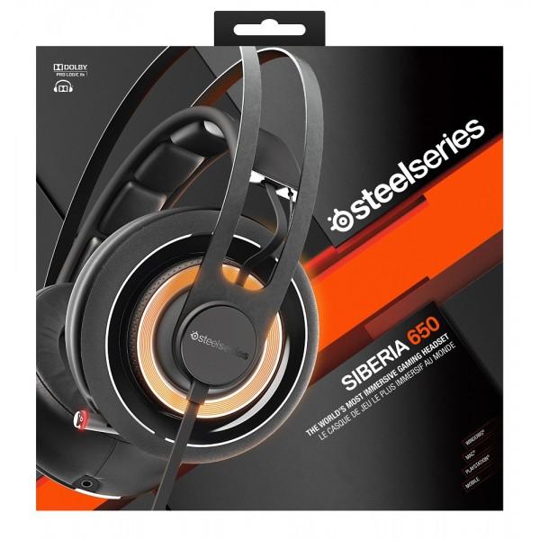 SteelSeries Siberia 650 Black