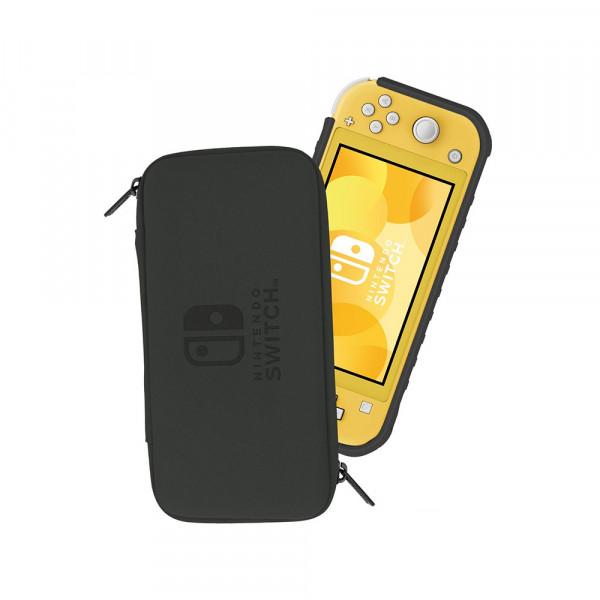 Hori Nintendo Switch Lite Hybrid System Armor Pokémon: Pikachu Black & Gold