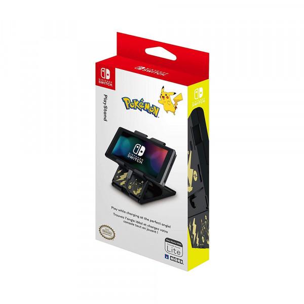 Hori Nintendo Switch PlayStand Pokémon: Pikachu Black & Gold