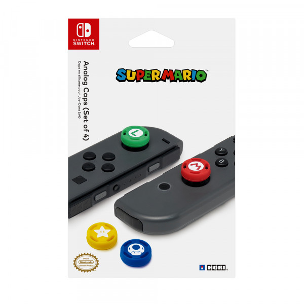 Hori Super Mario Analog Caps for Nintendo Switch