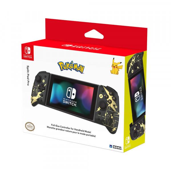 Hori Switch Split Pad Pro Pokémon: Pikachu Black & Gold