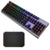Обзор механической клавиатуры Cooler Master CK350 и RGB ковра MP860. Брутальные красавцы