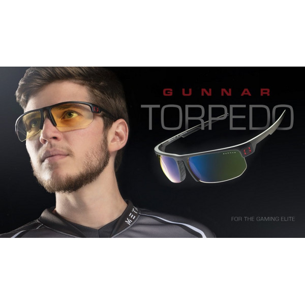 Gunnar Torpedo Amber Onyx
