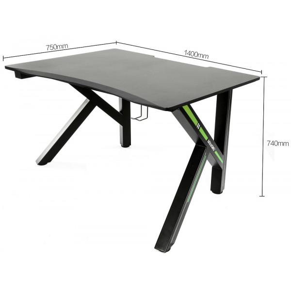 AKRacing Gaming Desk-140 Green