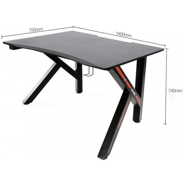 AKRacing Gaming Desk-140 Red