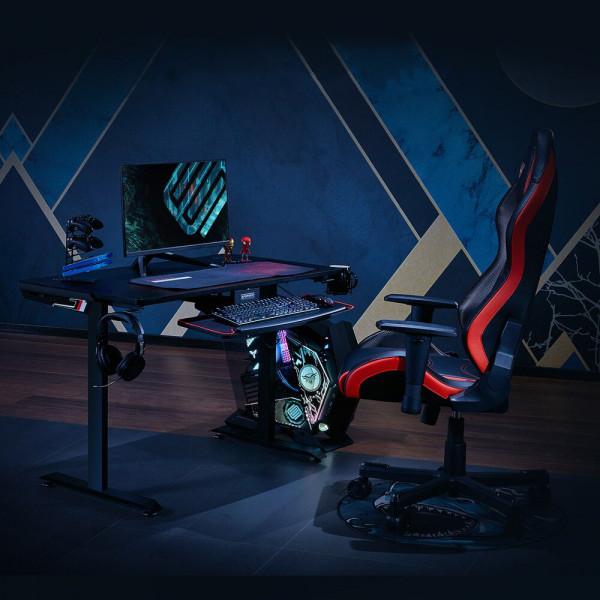 "Eureka Ergonomic I1-S Gaming Desk 45"" Black"