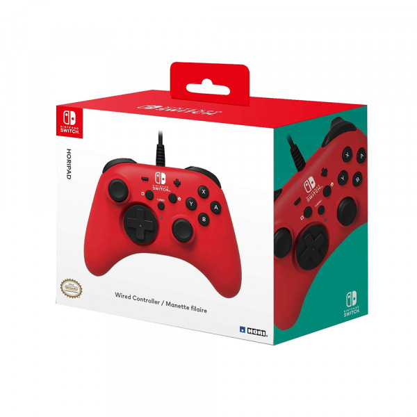Hori HORIPAD (Red) for Nintendo Switch